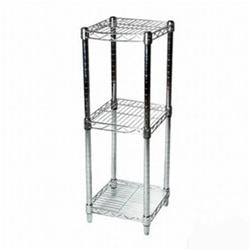8 Quot Depth Wire Shelving Unit With 3 Shelves Shelving Inc