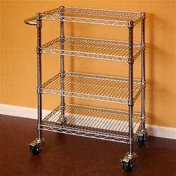 Wire Shelving Kitchen Cart 12 D X 30 W X 34 H