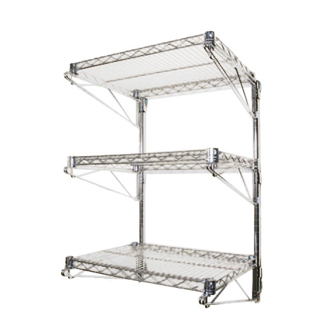 Wall Mounted Wire Shelves | Shelving.com