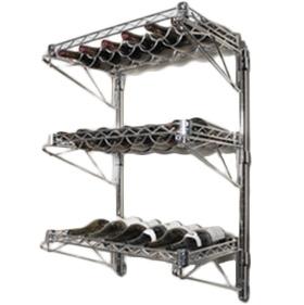 wall mounted adjustable wire shelves. Black Bedroom Furniture Sets. Home Design Ideas