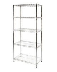 Restaurant Kitchen Metal Shelves restaurant & kitchen storage shelves | shelving