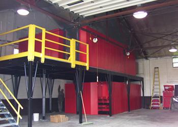 Storage Mezzanines | Shelving com