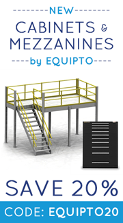 Save 20% on Equipto Products
