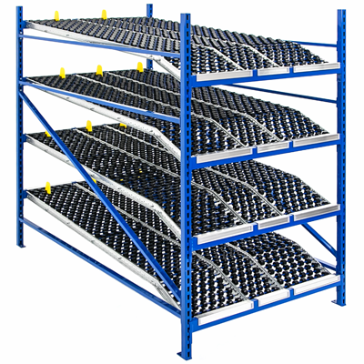 Roller Racks By Unex Shelving Com