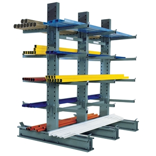 Standard Duty Cantilever Rack With 48 Arms By SPG