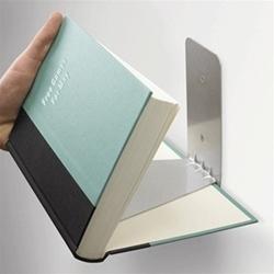Floating Bookshelf W Concealed Mounting Brackets Umbra
