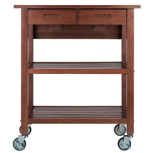 Jonathan Kitchen Cart by Winsome Wood