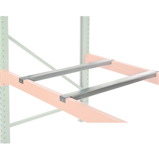 Pallet Rack Accessories Flanged Crossbar For Step Beams