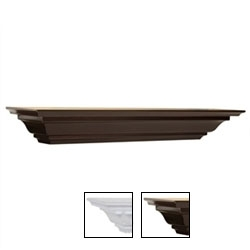 5d X 48w Crown Moulding Shelf