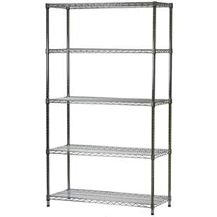 Wire Shelving 18 Inches Deep X 42 Inches Wide With 5 Shelves