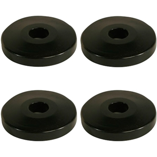 Donut Bumpers For Wire Shelving Carts Pack Of 4