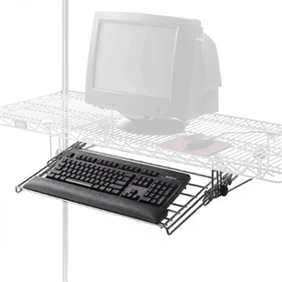 Wire Keyboard Drawer For Wire Shelving Pull Out Keyboard