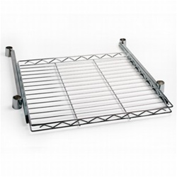 Wire Pull Out Shelves Sliding Shelving On Guided Track