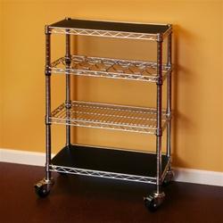 Wire Kitchen Cart 14 D X 24 W X 34 H Shelving Inc