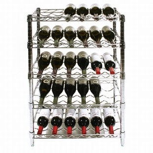 Chrome Wire Wine Rack Kits