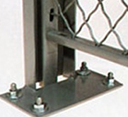 Wire Security Cage Posts