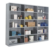 Closed Steel Shelving Units and Systems