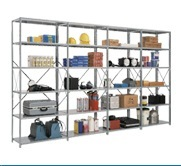 Open Steel Shelving Units and Systems